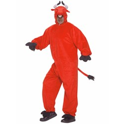 Crimson Bull Adult Costume