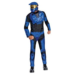 Economy Blue Spartan Halloween Costume</p> <p>