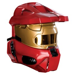 Red Spartan 1/2 Mask</p> <p>
