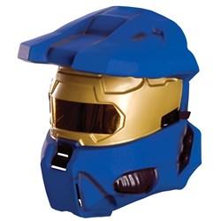 Blue Spartan 1/2 Mask</p> <p>