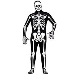 Mormon Spooky Hell Dream Skeleton Costume