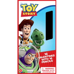 Toy Story Valentine's Day Cards and Pencils