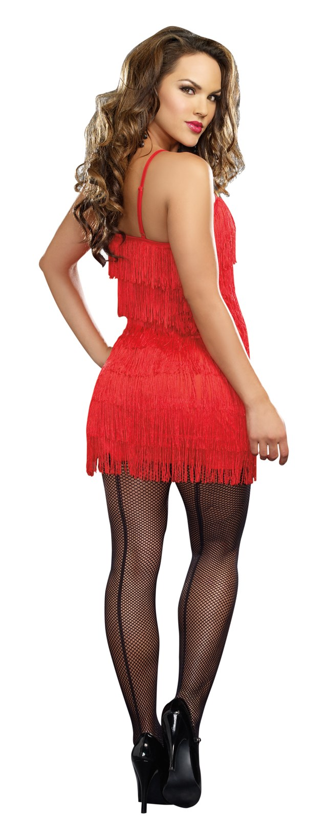 20s Red Flapper Dress | BuyCostumes.com