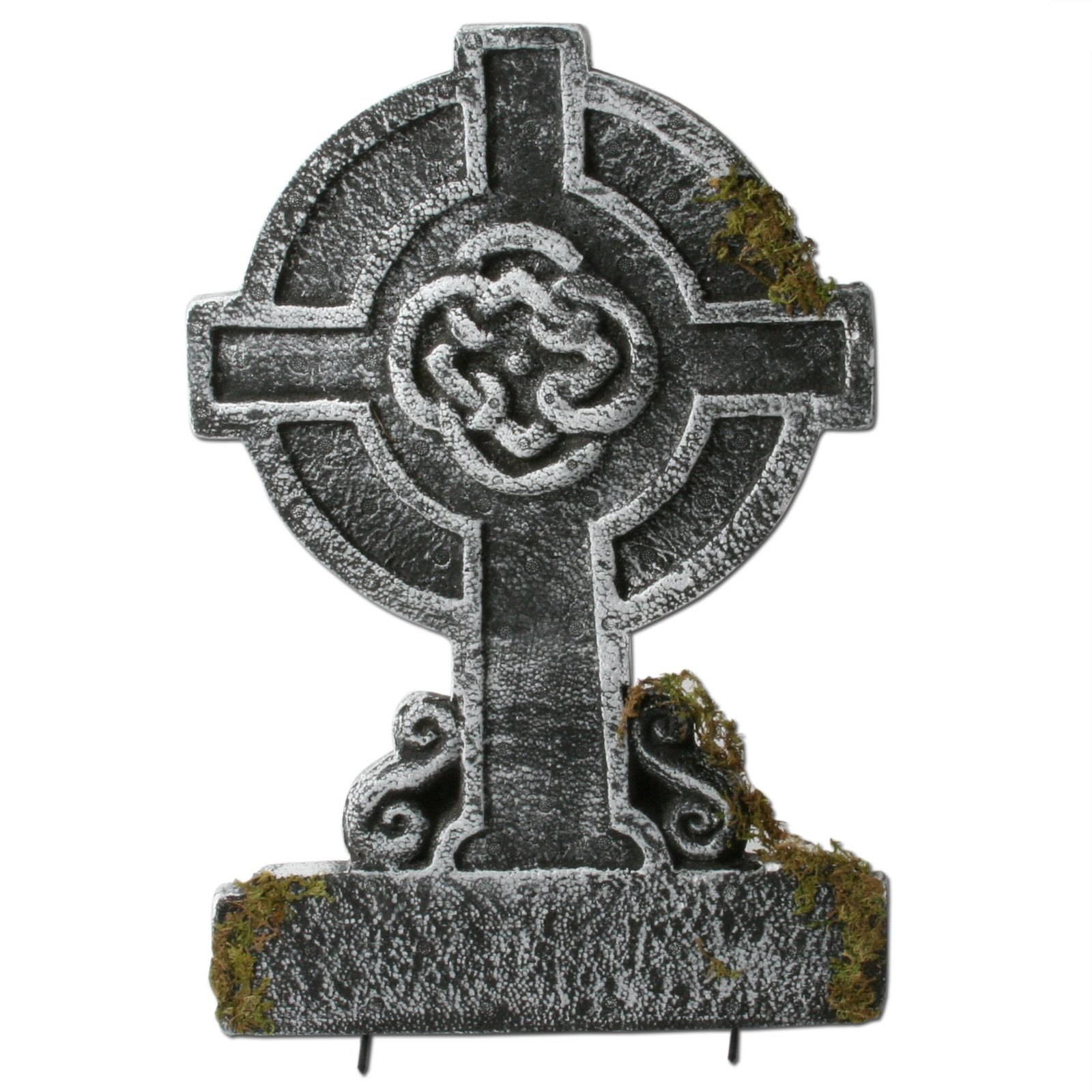 22 mossy celtic cross tombstone buycostumes