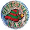 Official Elf Lazer Etched Button