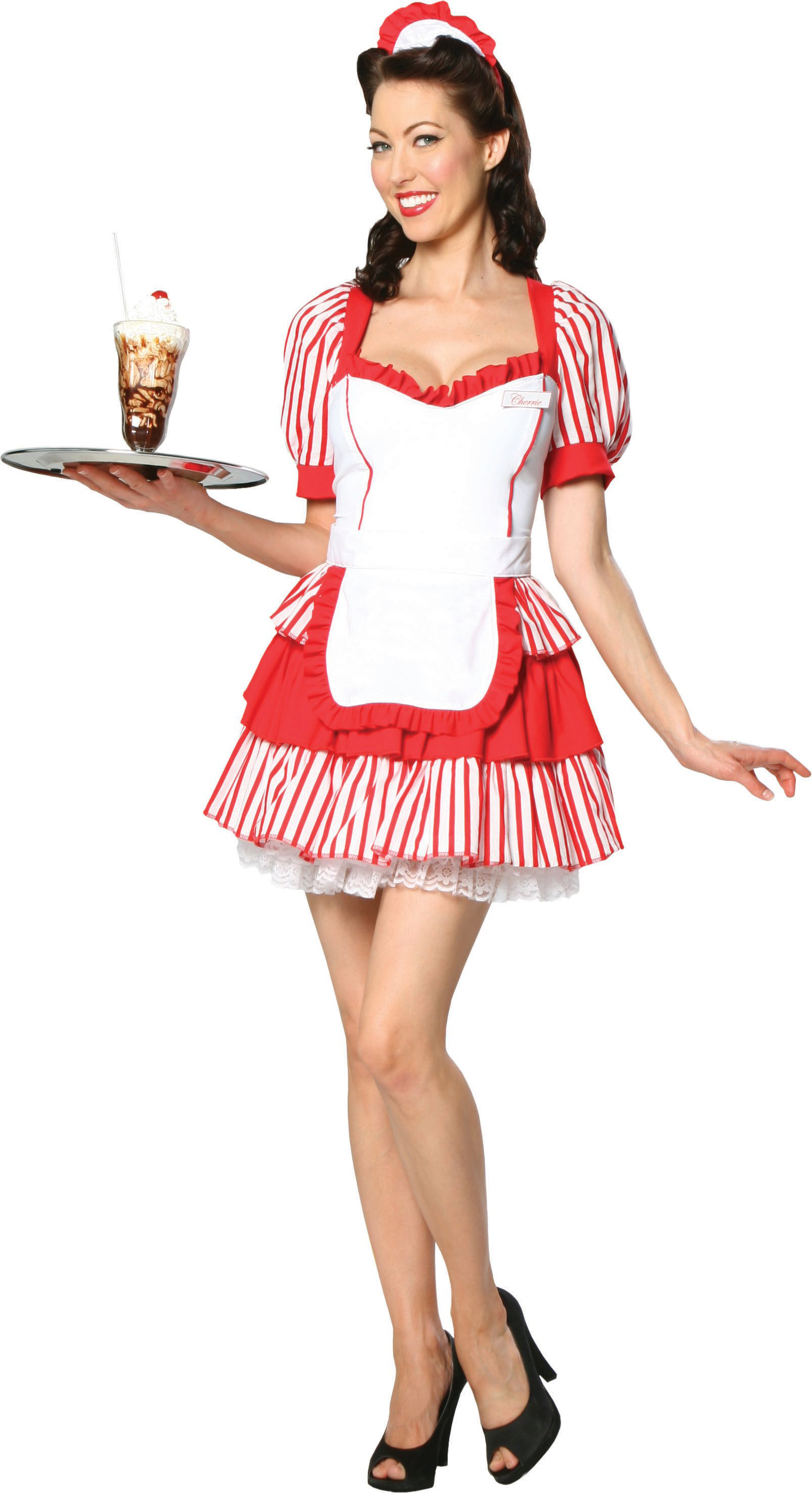 Displaying 18> Images For - 50s Diner Waitress...