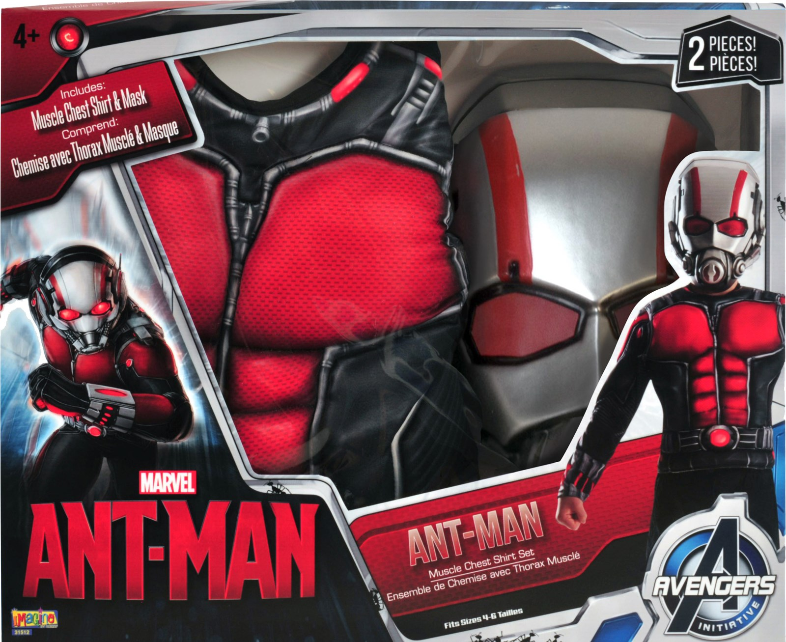 House decorations for halloween - Ant Man Kids Muscle Chest Shirt Kit Buycostumes Com