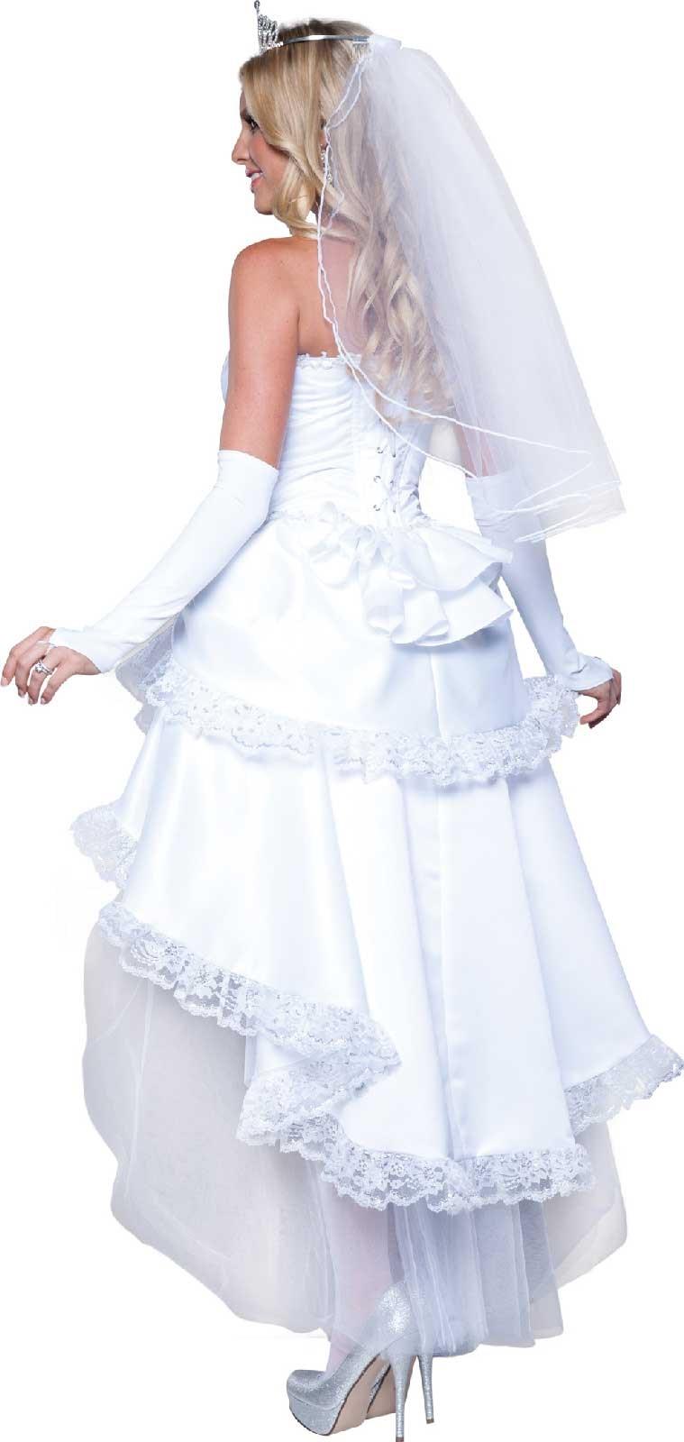 Blushing Bride Dress Womens Costume