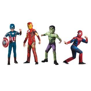 Boys Marvel Superhero Dress-up Set