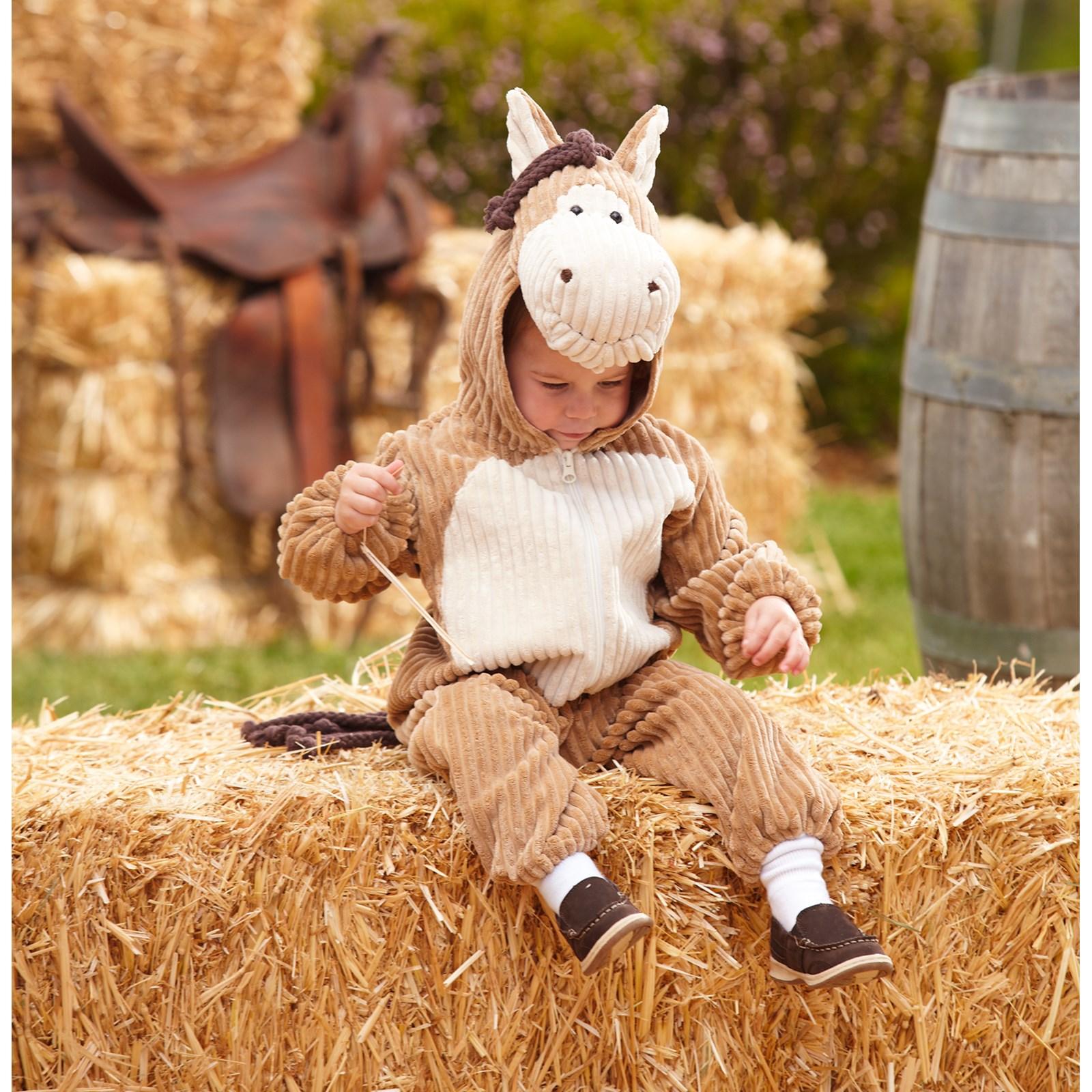 Horse: Corduroy Horse Toddler Costume