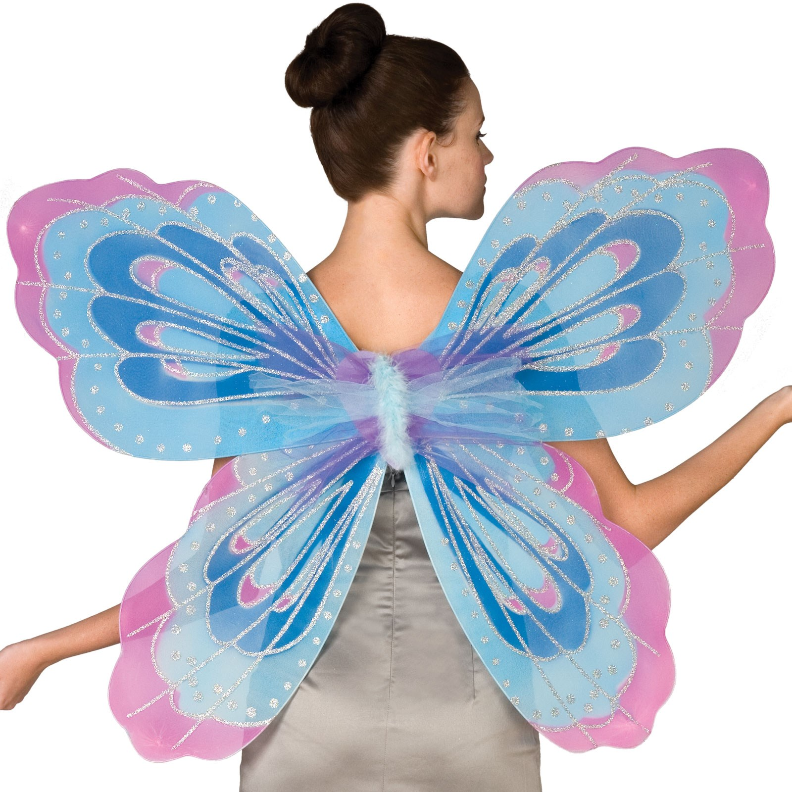 Pink fairy costume adult
