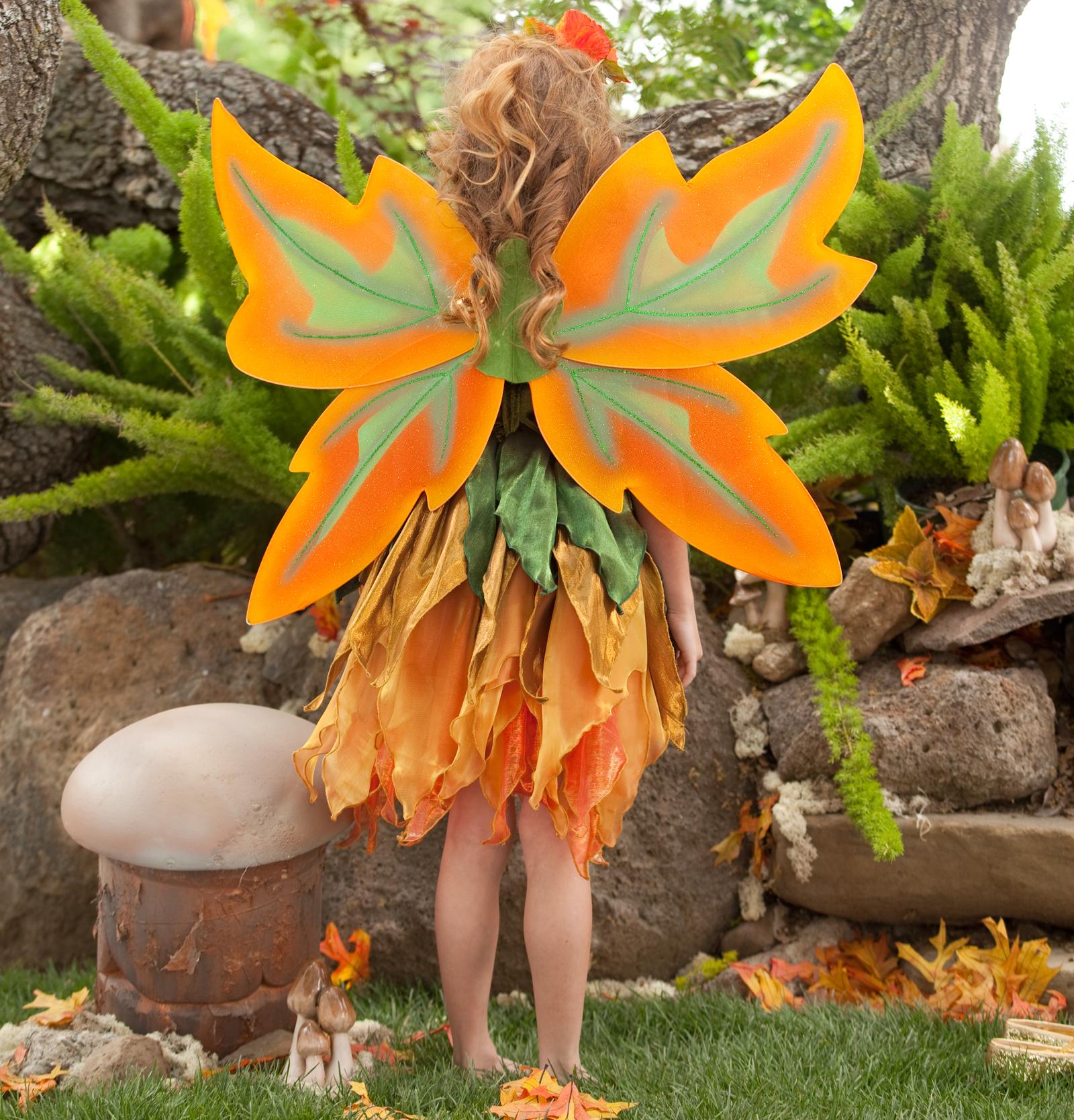 Fall Fairy Child Costu...