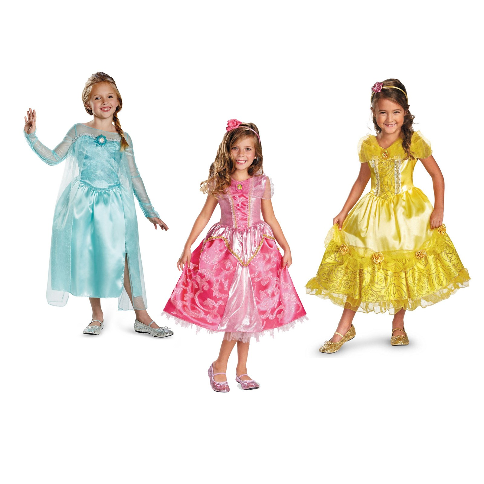 Shop Party City for girls' princess costumes at fabulous prices. Find deluxe princess gowns, light costumes, and more.