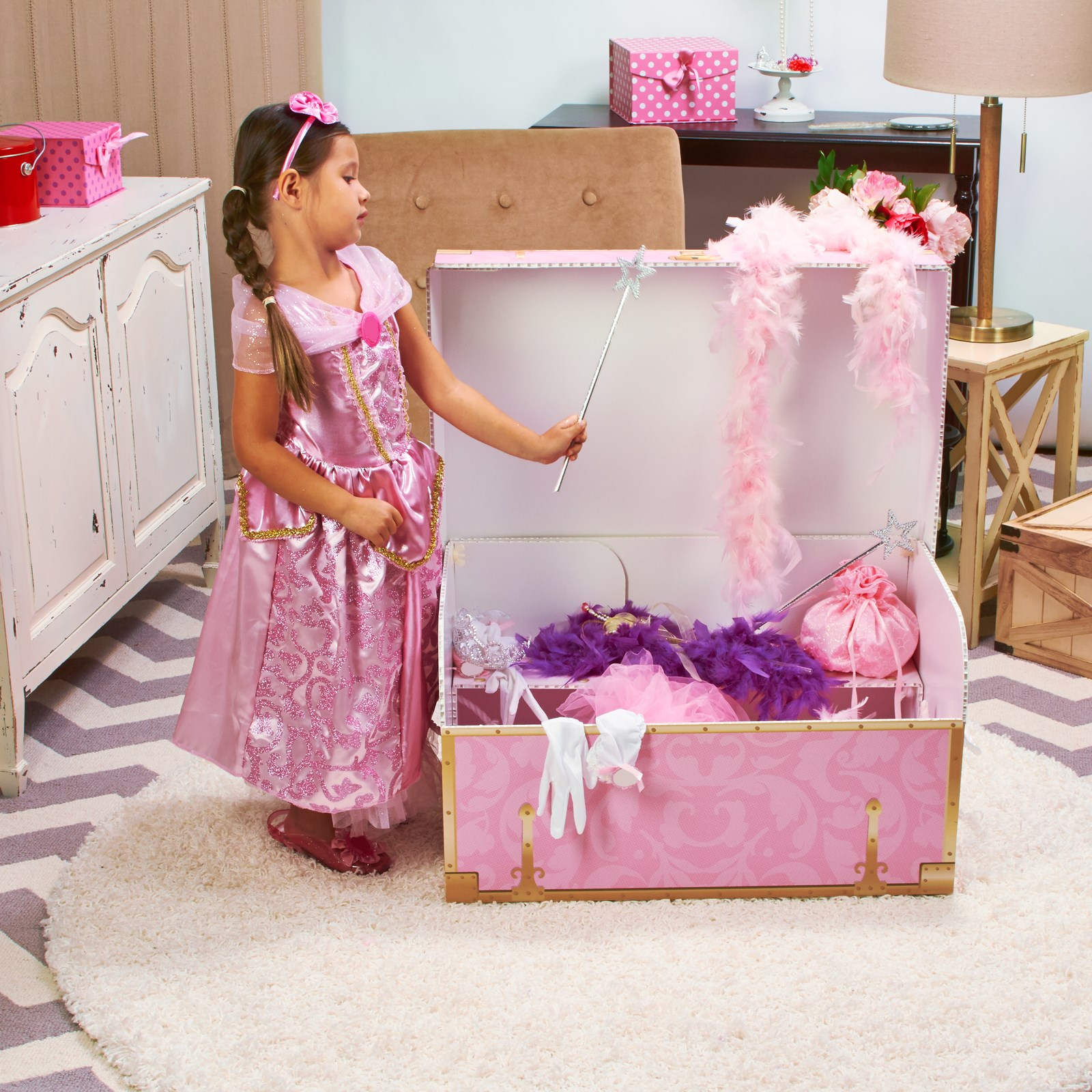 Girls Dress-up Trunk  BuyCostumes.com