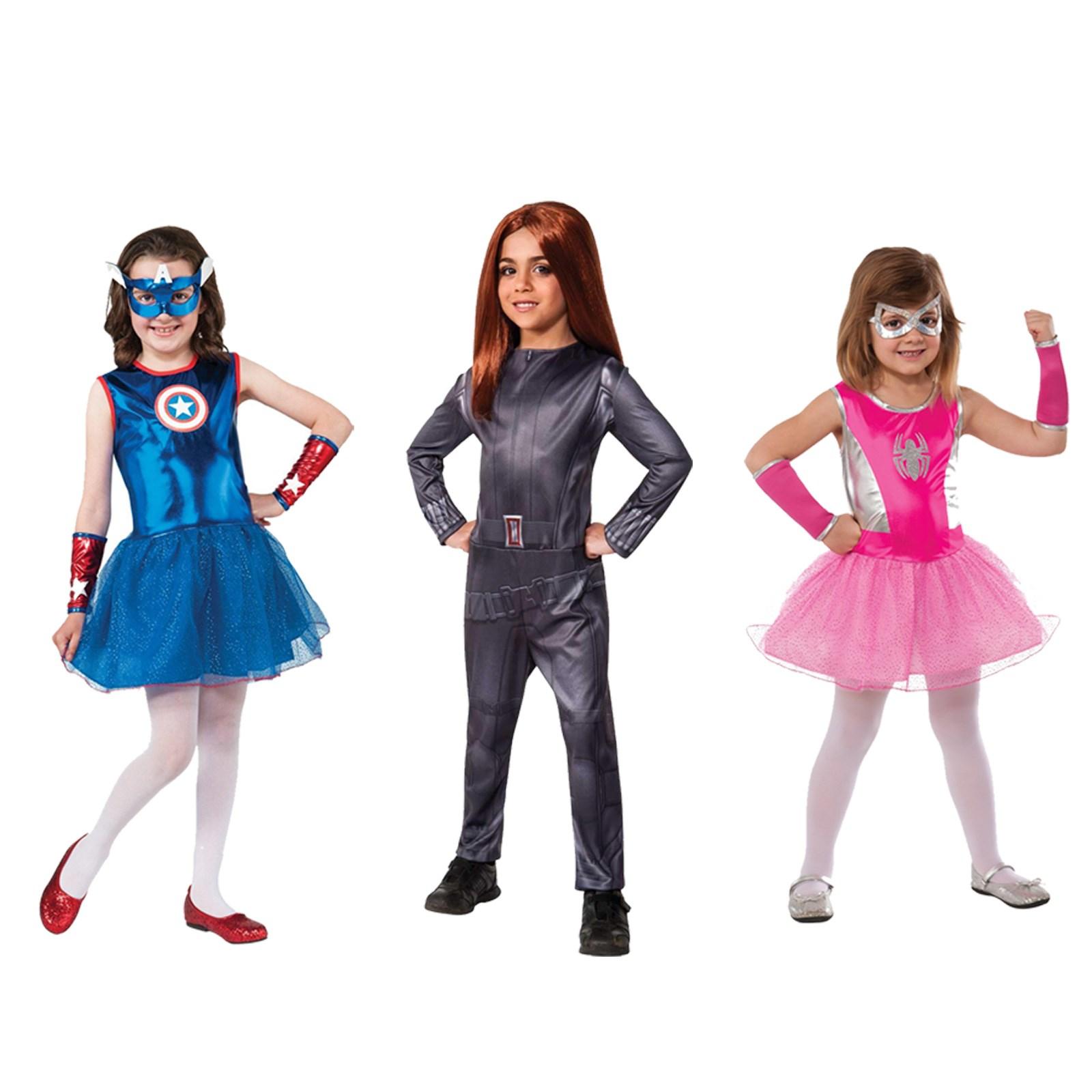 Dress up for girl - Girls Marvel Superhero Dress Up Set