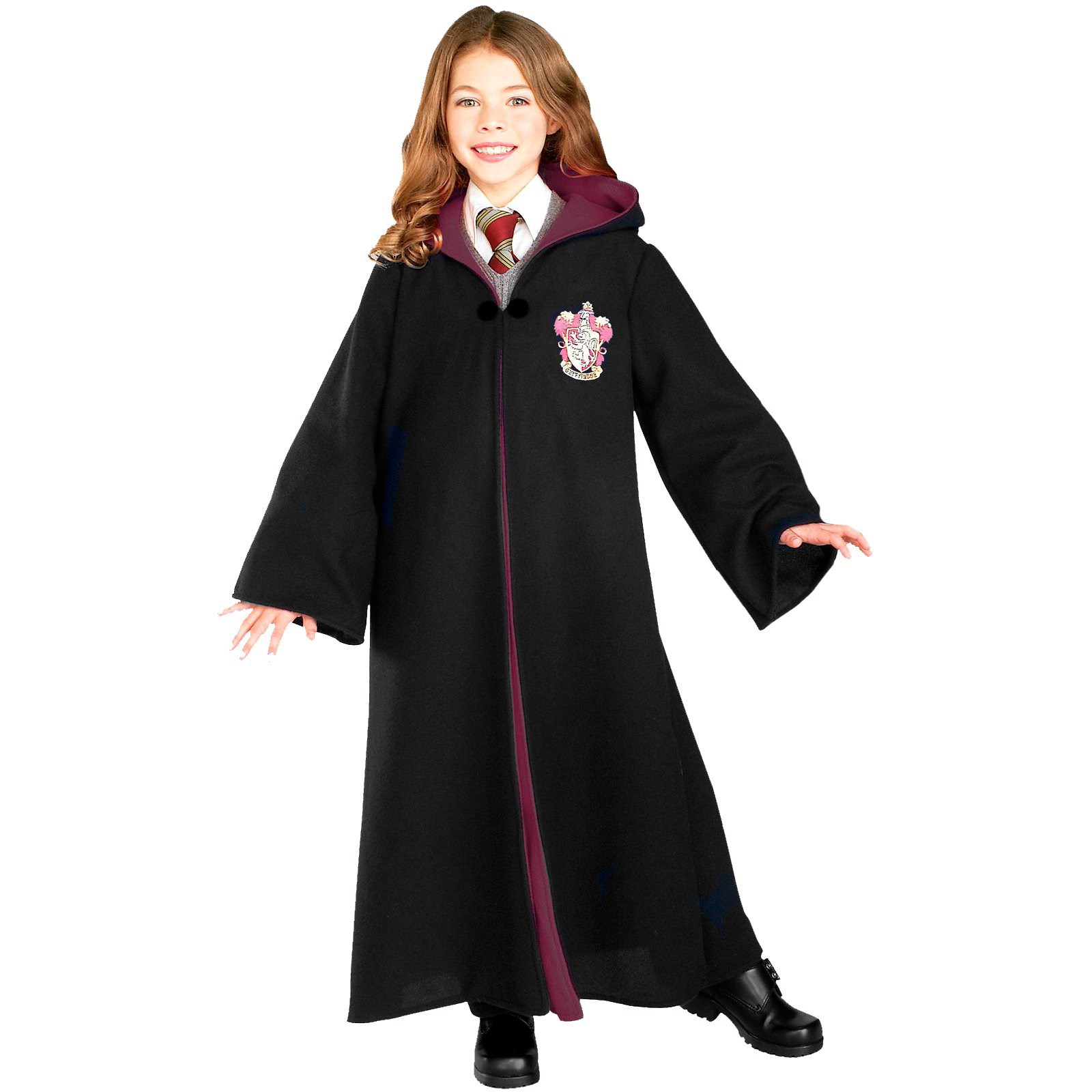 Harry Potter Deluxe Gryffindor Robe Child Costume ...