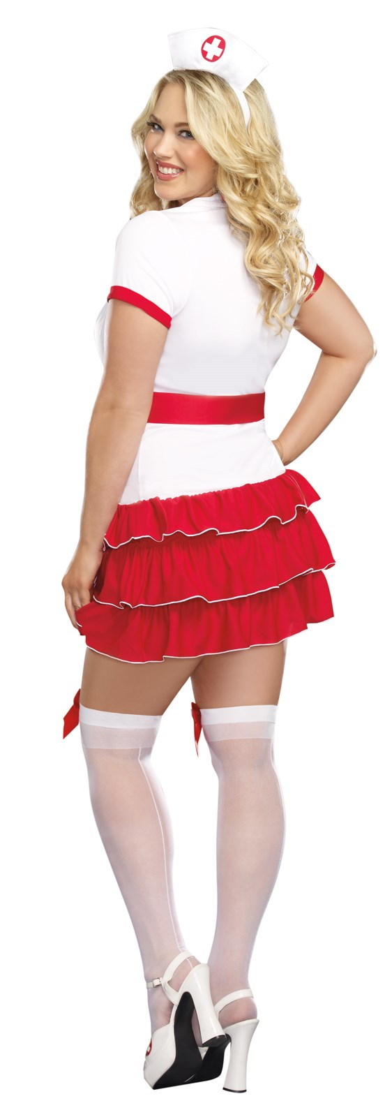 Halloween spider decorations - Hospital Hottie Plus Size Nurse Costume Buycostumes Com
