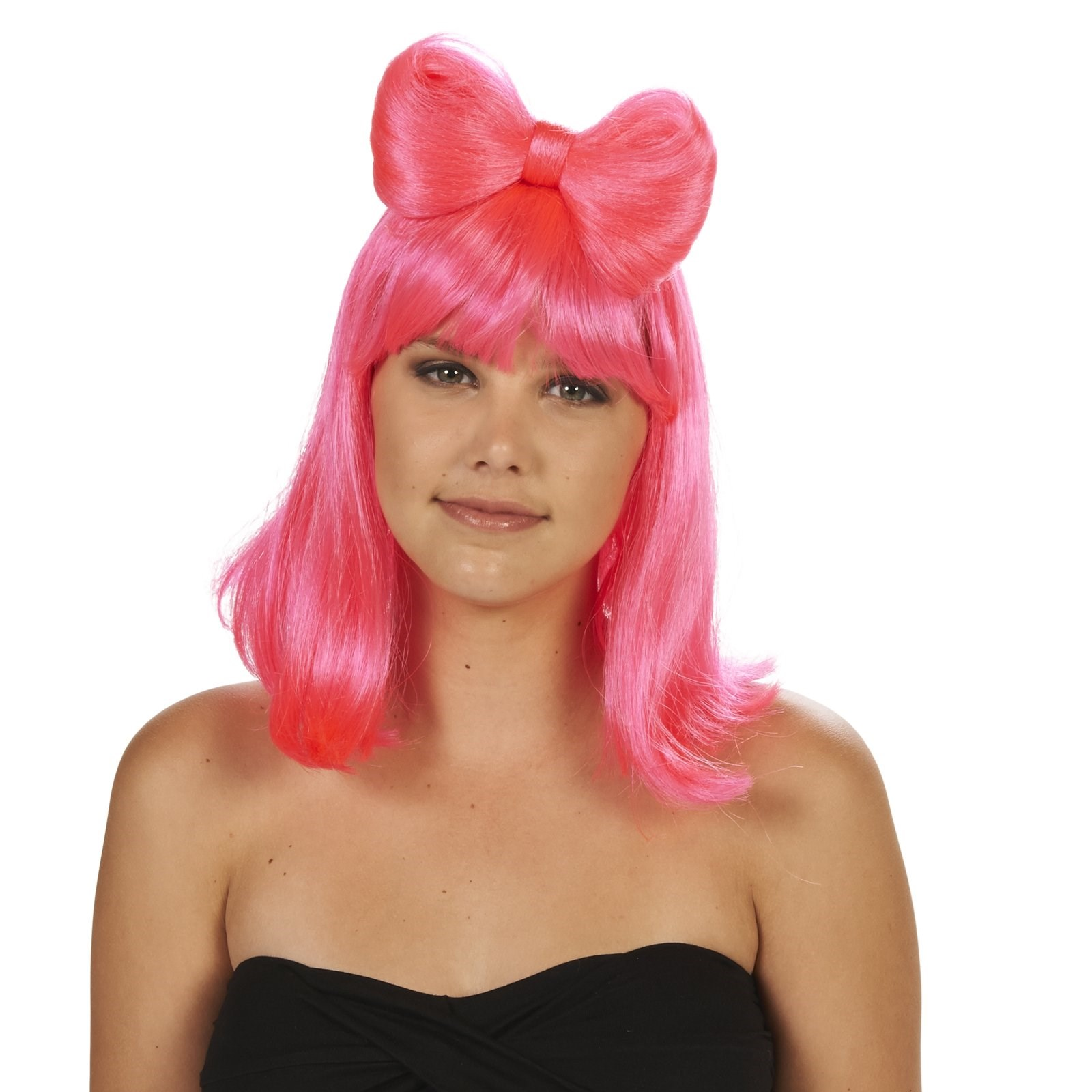 Costumes With A Pink Wig 42
