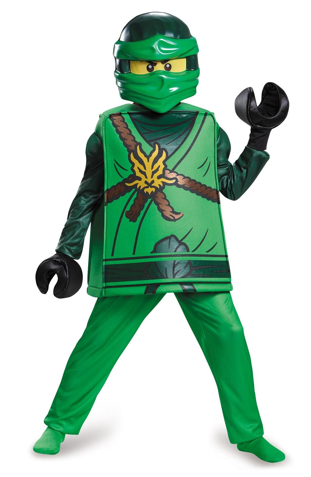 Lego Ninjago Lloyd Deluxe Child Costume | BuyCostumes.com