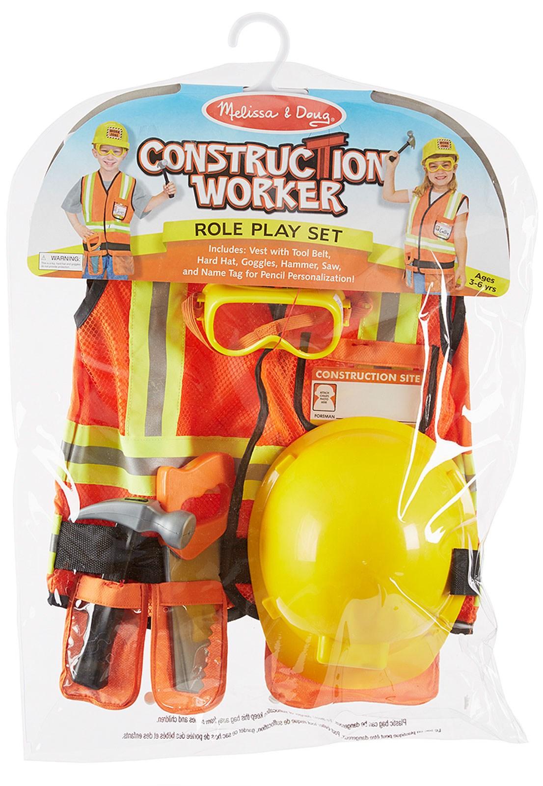 melissa u0026 doug kids construction worker buycostumes com