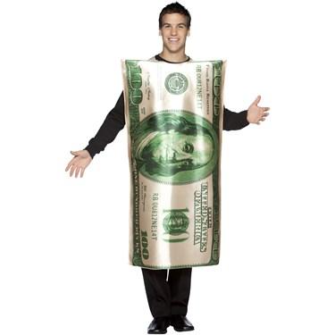 $100 Bill Adult Costume