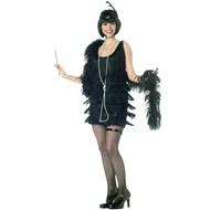 Fashion Flapper (Black)  Adult