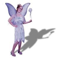 Velvet Watercolor Fairy Adult Med/Large