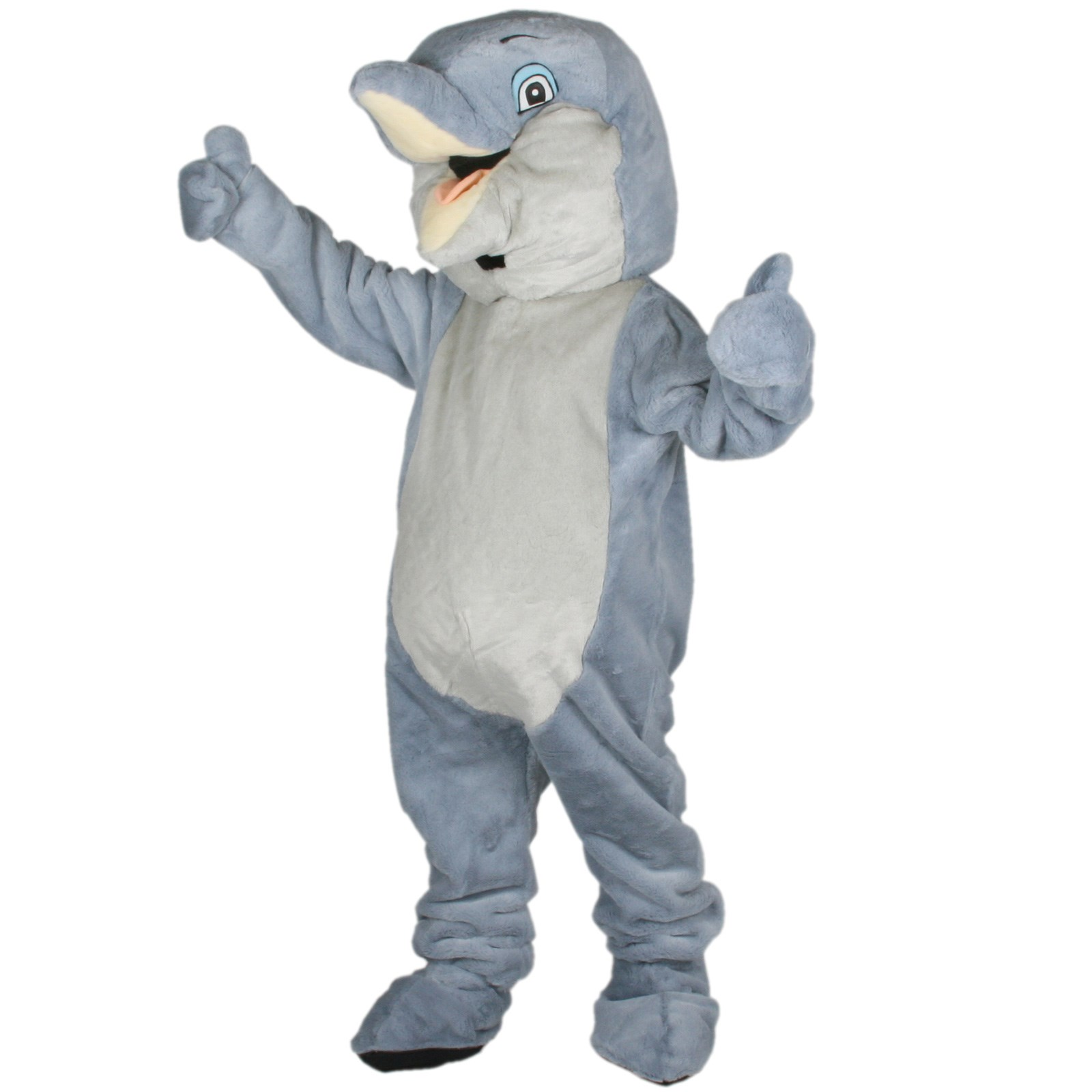 Dippy Dolphin Mascot Adult Costume