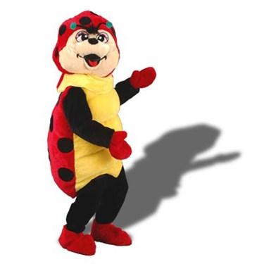 Spots the Ladybug Mascot Adult Costume