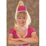 Dream Of Jeannie Hat w/Hair