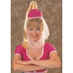 I Dream Of Jeannie Hat w/Hair