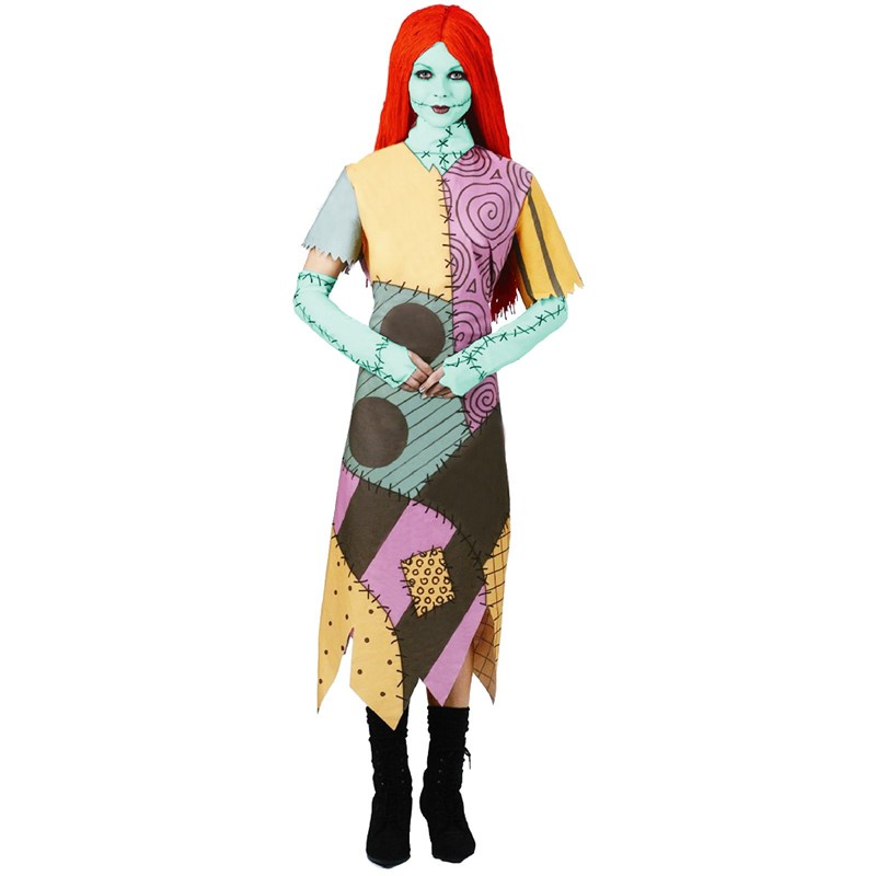The Nightmare Before Christmas Sally Adult Costume for the 2015 Costume season.
