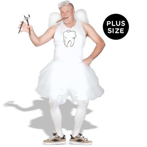 Tooth Fairy Adult Plus Costume
