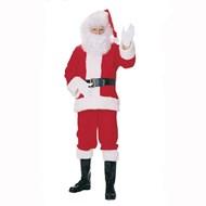 Complete Flannel Santa Suit