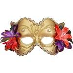 Gold Venetian Half Mask