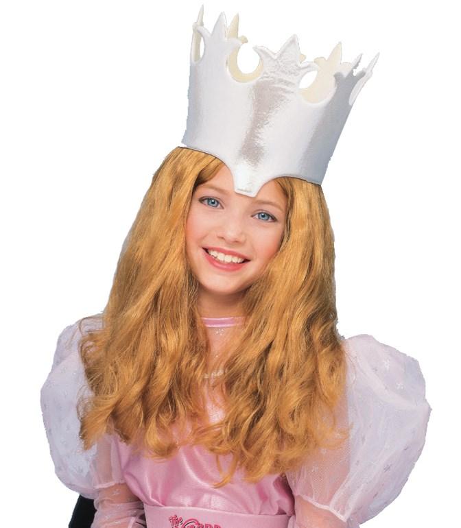 The Wizard of Oz Glinda Wig Child for the 2015 Costume season.
