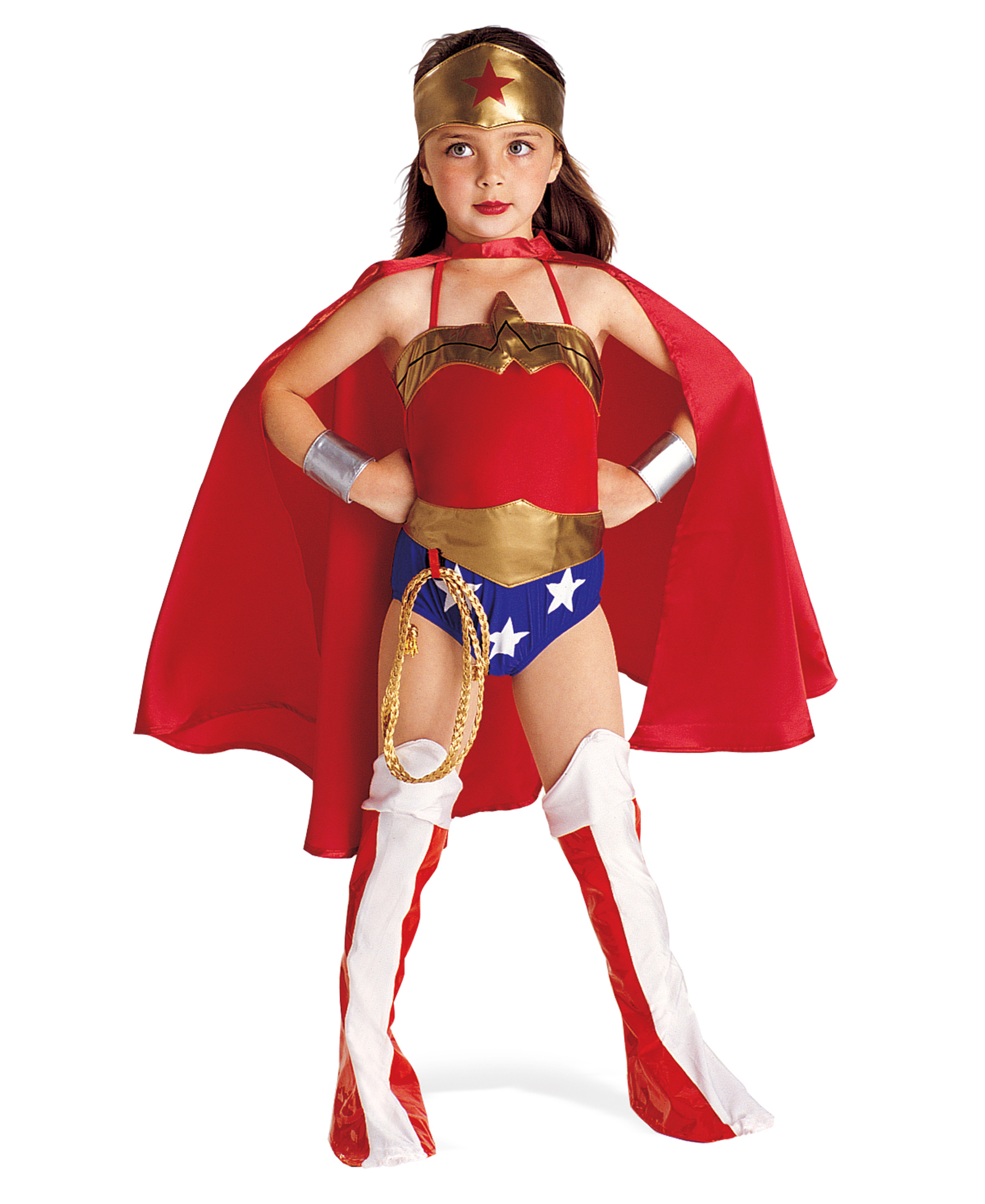 Wonder Woman Child - children's superhero halloween costumes