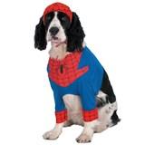 Spiderman Comic Pet Costume Medium