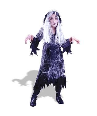 Spiderweb Gauze Ghost  Child Costume