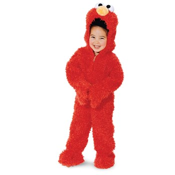 Sesame Street Elmo Plush Deluxe Toddler Costume