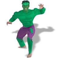 Hulk Adult Deluxe Muscle Costume