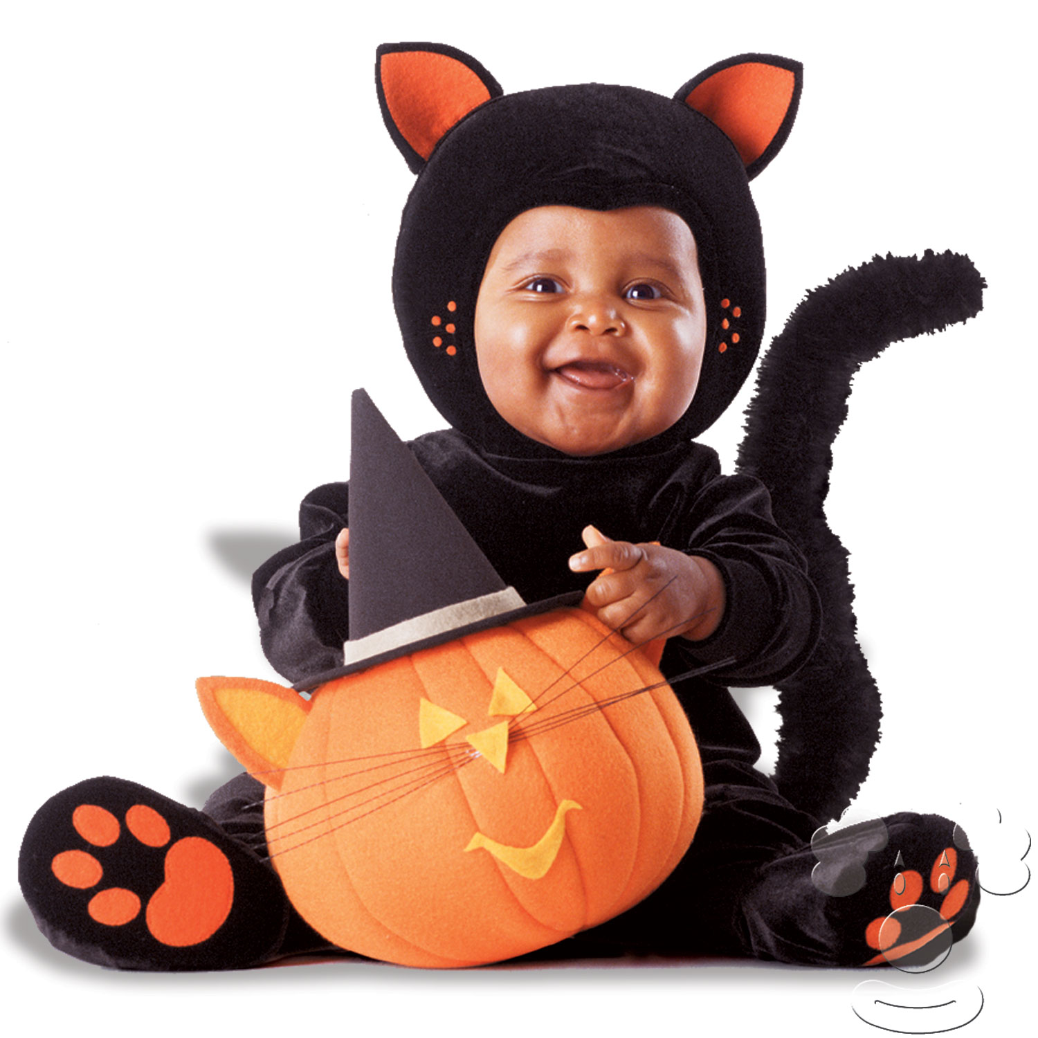 Tom Arma Deluxe Black Cat - kids animal costumes