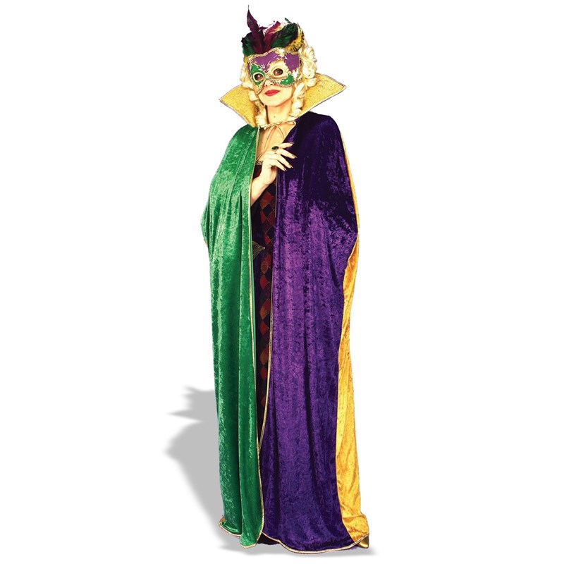 Mardi Gras Cape Adult for the 2015 Costume season.