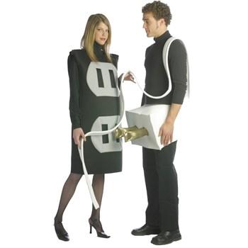 Plug & Socket  Adult Costume