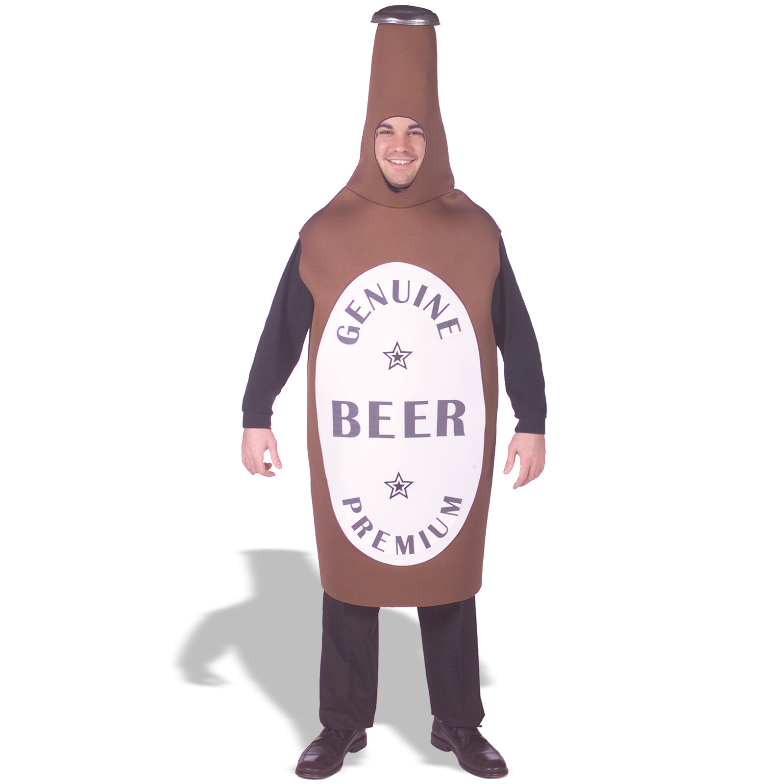 Beer Bottle Costume - humourous halloween costumes for adults