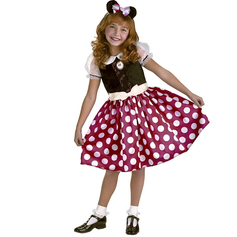 Disney Minnie Mouse Toddler  and  Child Costume for the 2015 Costume season.