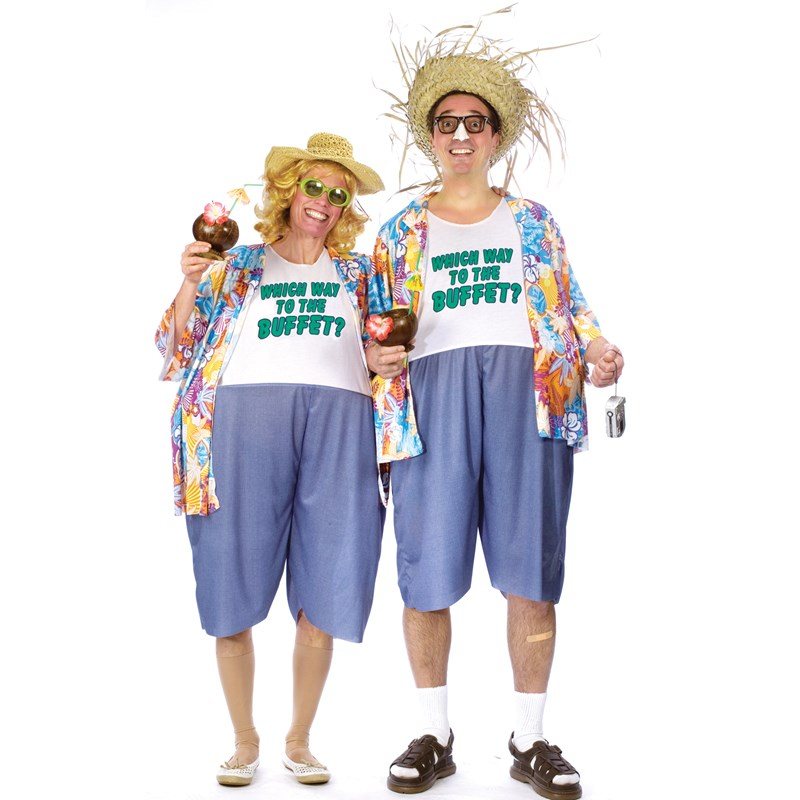 Tacky Traveler Adult Costume for the 2015 Costume season.