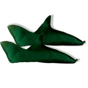 Elf Shoes, Green Felt