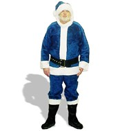 Holiday Suit Blue Adult Large