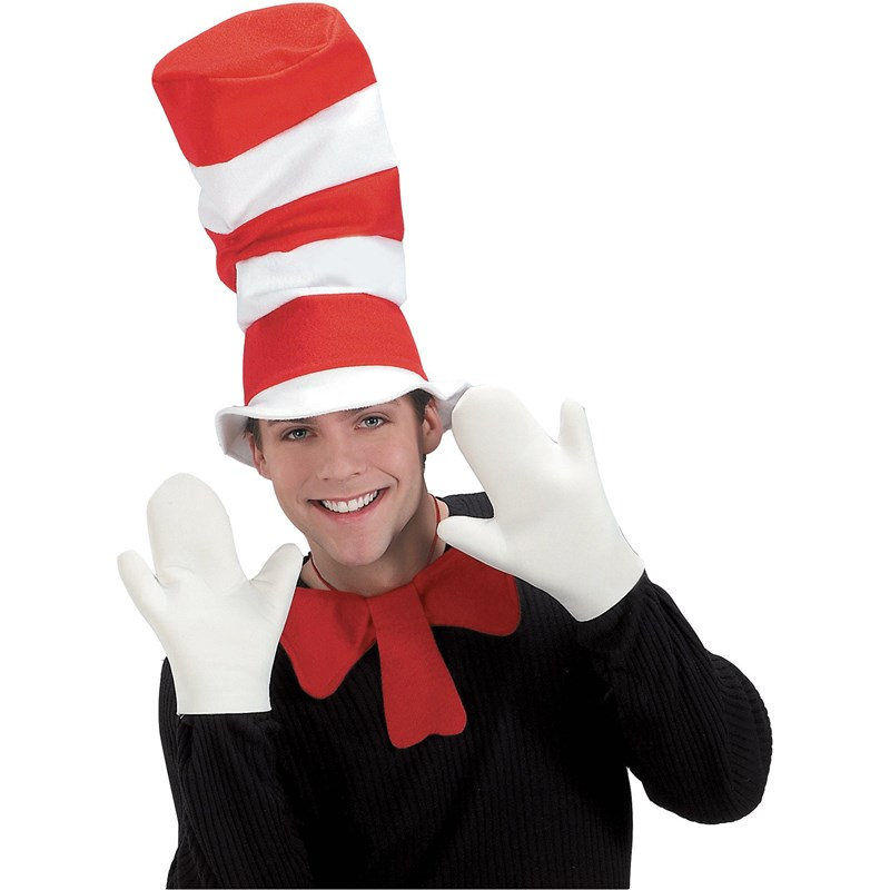 Dr. Seuss The Cat in the Hat Movie   The Cat in the Hat Mitts (Adult) for the 2015 Costume season.